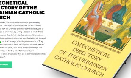 CATECHETICAL DIRECTORY OF THE UKRAINIAN CATHOLIC CHURCH