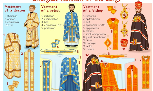 Liturgical Vestment of the Clergy Photos