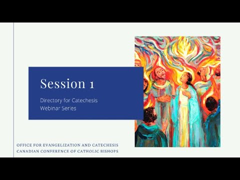 Director for Catechesis Webinar Series and Resource Kit