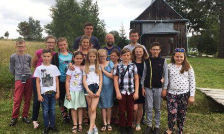 Відбувся літній християнський табір «Сарепта» у Новиці/Команче, Польща