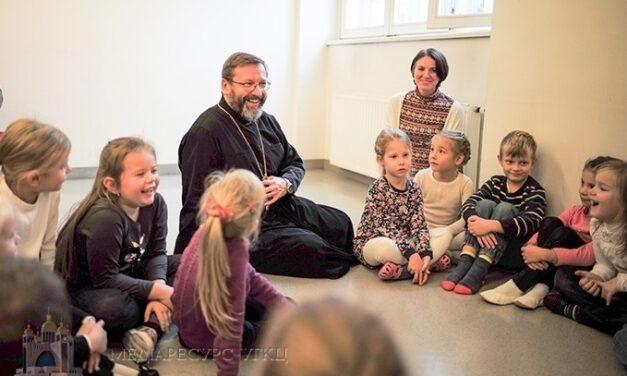 """Блаженніший Святослав: """"Майбутнє нашої Церкви, України і народу залежить від освіти та виховання наших дітей"""""""