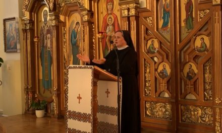 Реколекції для катехитів та освітян с. Наталії Мельник (відео)