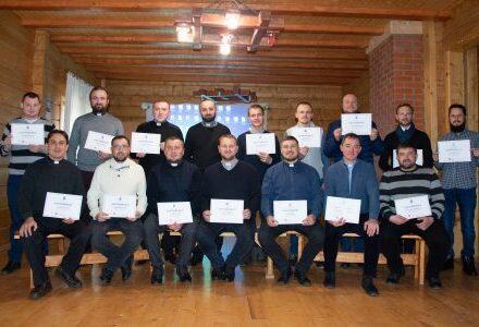 Катехитичний вишкіл для священників провели у Стрийській єпархії