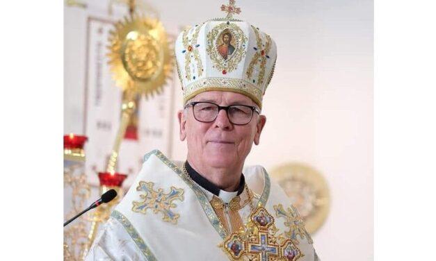 Вітання владики Діонісія з 75-річним ювілеєм від катехитів УГКЦ