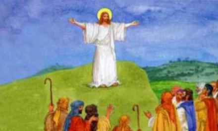 ІСУС ХРИСТОС ПОВЕРТАЄТЬСЯ ДО НЕБЕСНОГО ДОМУ
