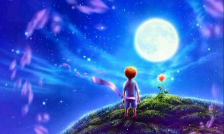 Маленький Принц у галактиці Блаженств (планета миротворця)