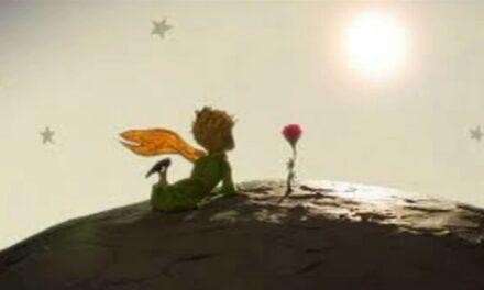 Маленький Принц у галактиці Блаженств (планета лагідних)