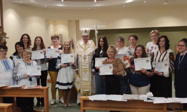 Відбулися випускні урочистості на катехитичних курсах в Апостольському Екзархаті УГКЦ в Італії