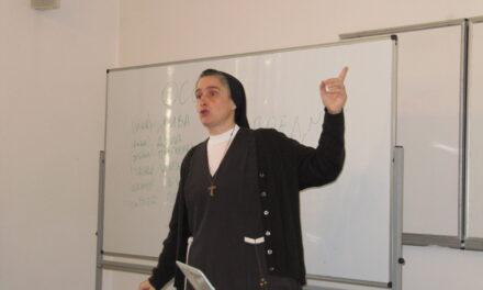 Відбулися семінари с. д-ра Вероніки Донателло (Рим), присвячені катехитичному служінню особам з особливими потребами