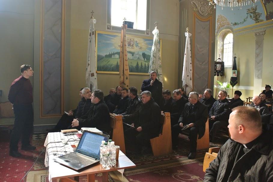 Зустріч «Боже Слово і катехизація» в рамках Інституту постійної формації духовенства