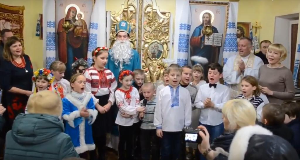 Свято Миколая на парафії